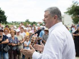 Петро Порошенко на зустріч з людьми