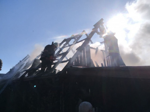 За минулу добу рятувальники загасили три пожежі у житловому секторі