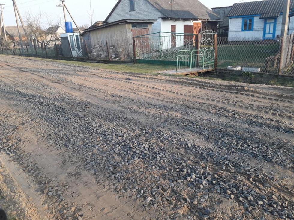 РемонтвулицьКаштанова та Незалежності уселіСмідин.
