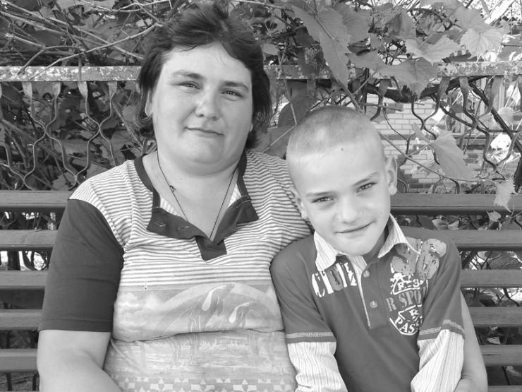 Валентина Сулім із сином