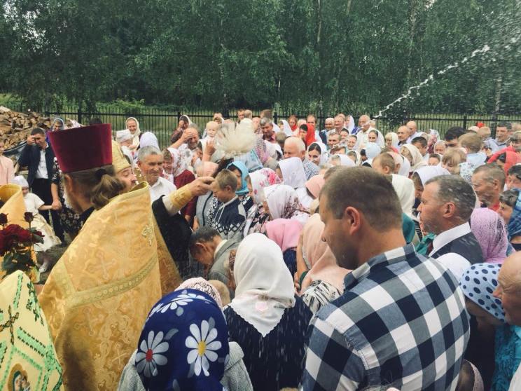 У селі Мокре відзначають престольне свято