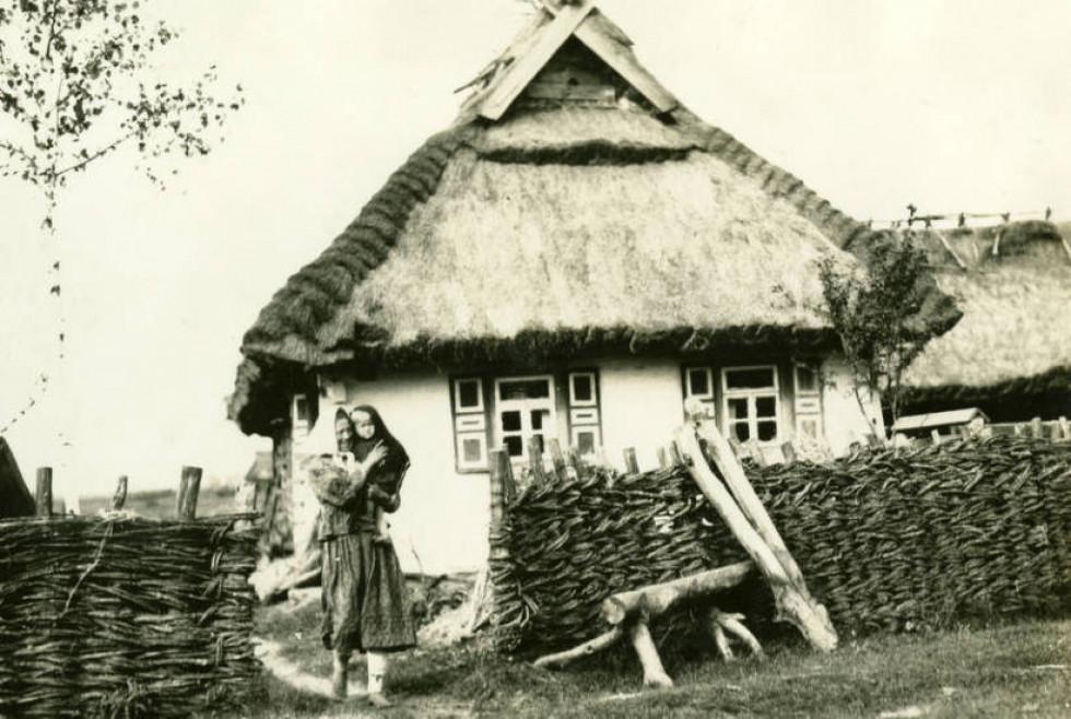 Хата в селі Буцинь,1934 рік