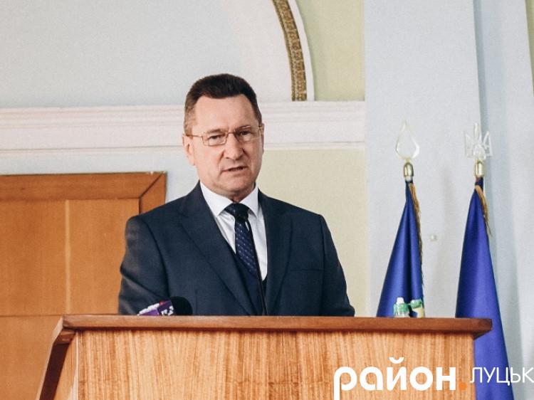 Ректор СНУ - Анатолій Цьось