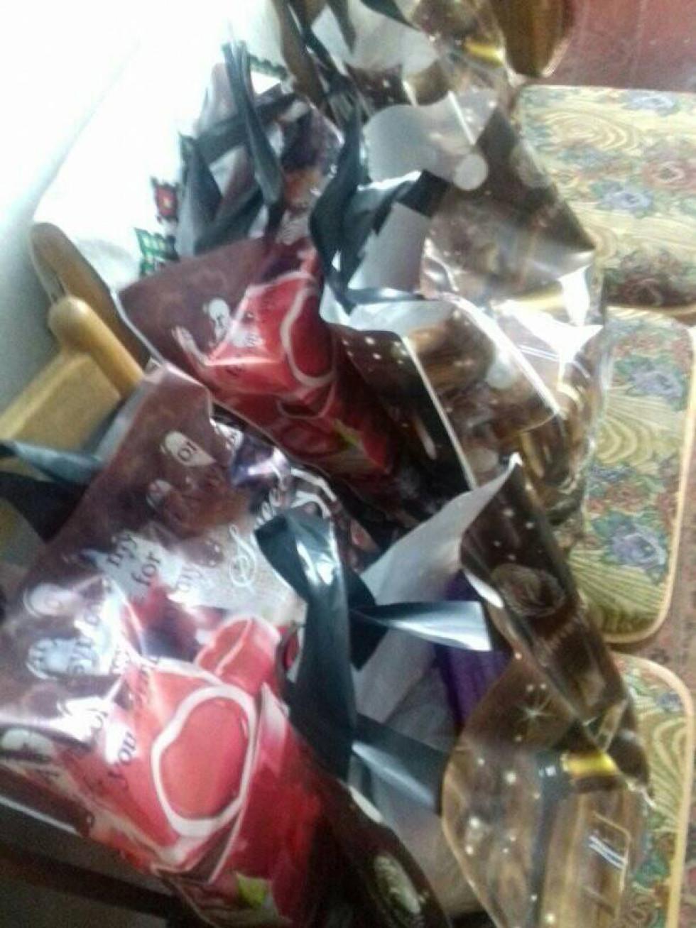 Подарунки для дітей Дубечненської ОТГ