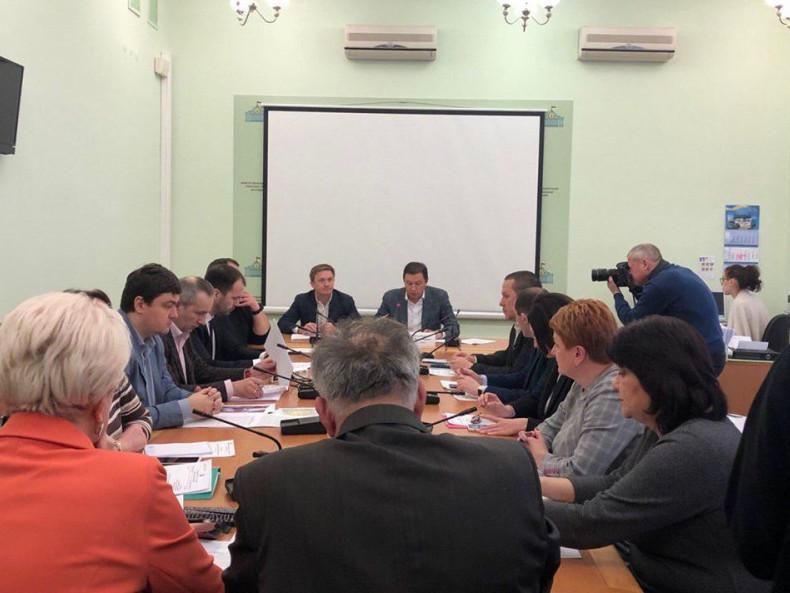 Засідання робочої групи в Комітеті з питань екологічної політики та природокористування