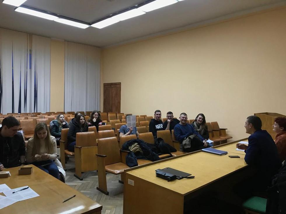 Перше засідання Молодіжної ради