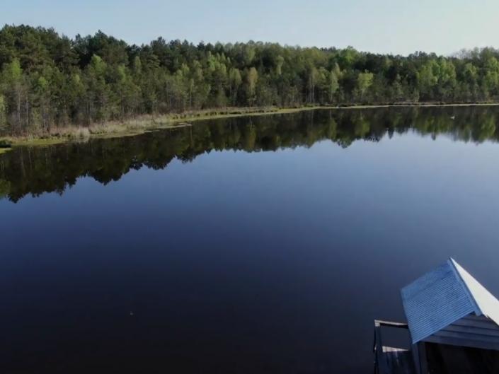 Озеро Святе з висоти пташиного польоту