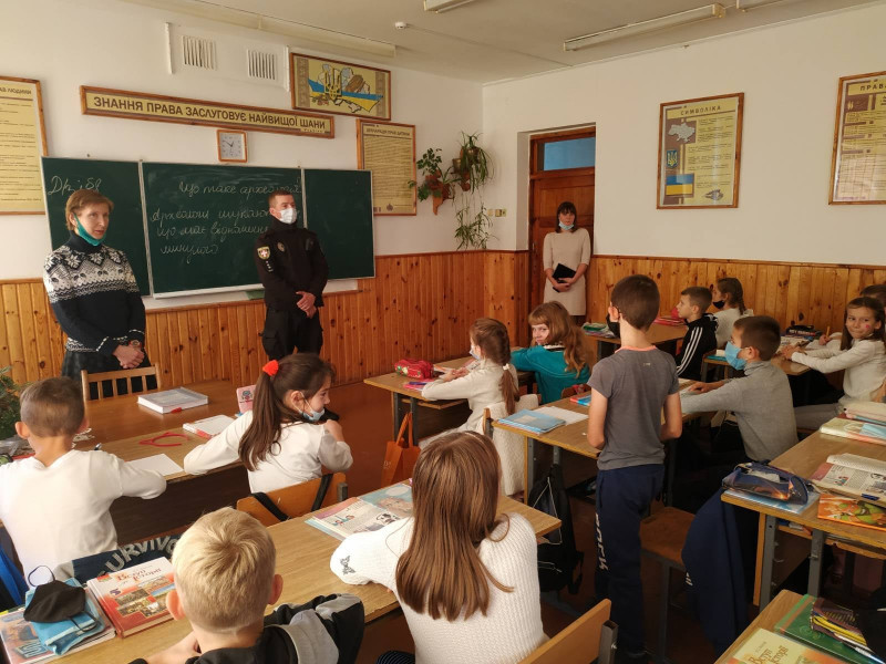 У старовижівській гімназії відбулася зустріч на тему булінгу