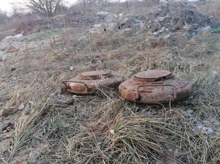 На Волині знайшли снаряди часів Другої Світової війни