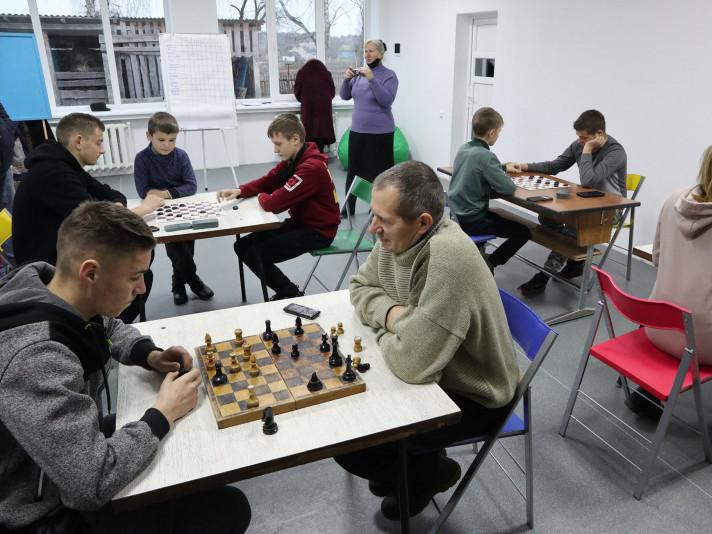 У селі Рудня відбувся шаховий турнір