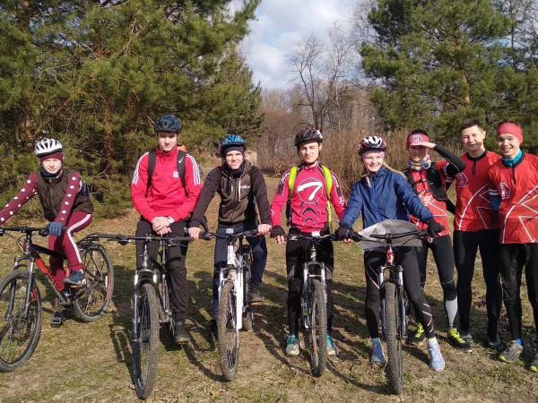Юні велосипедисти
