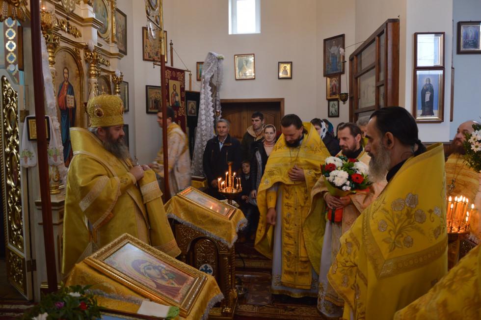 Митрополит очолив літургію