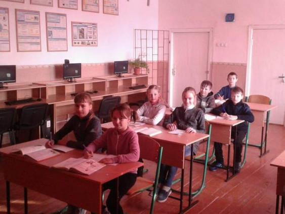 Учні журавлинської школи