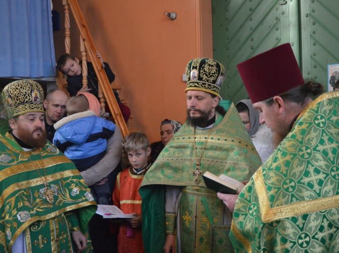 Богослужіння очолив Сергій Никонюк