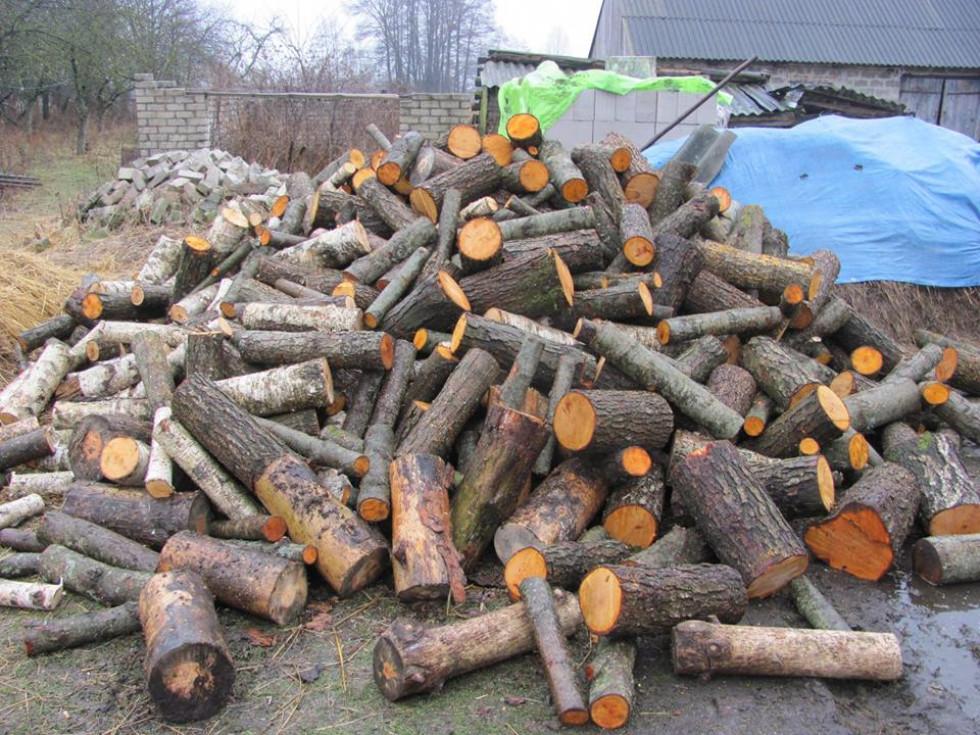 Подаровані дрова