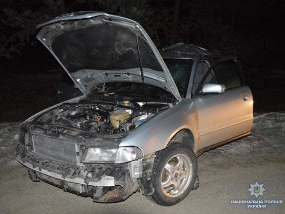 Пошкоджений автомобіль