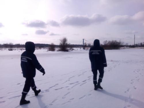 Обхід місць зимової риболовлі