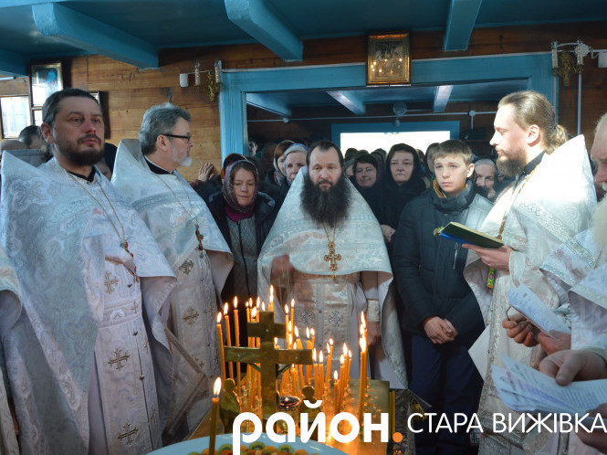 Служба у рідному селі владики