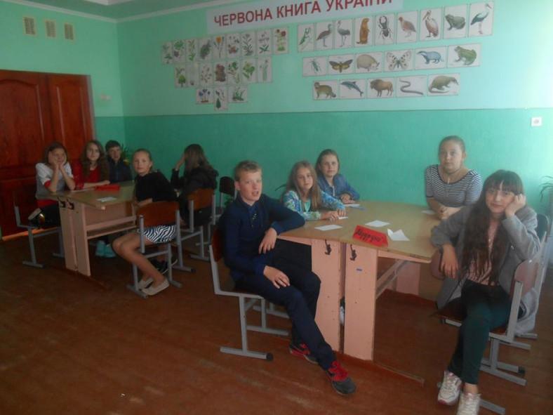Галиновільські школярі