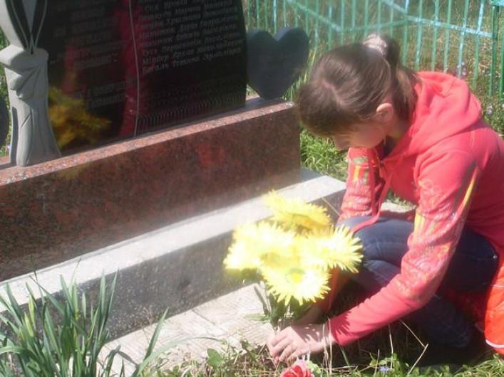 Прибирання надгробку