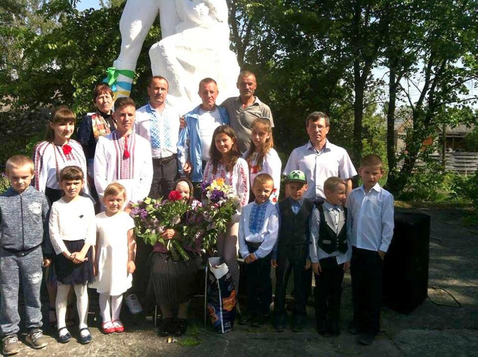Урочистості в Буцині
