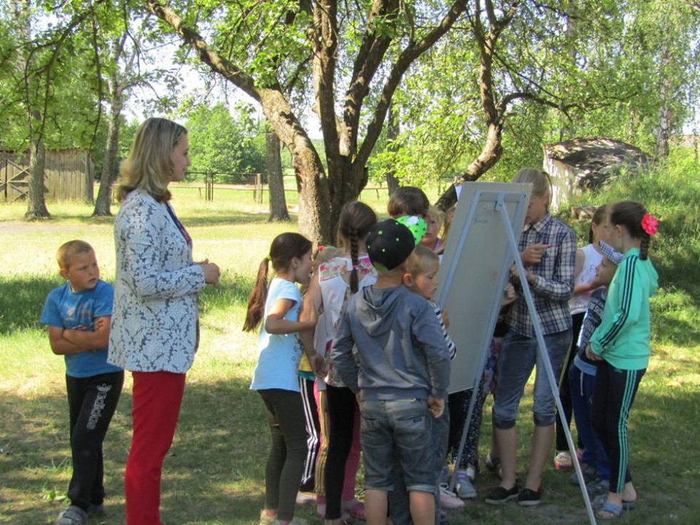 Діти під час конкурсу