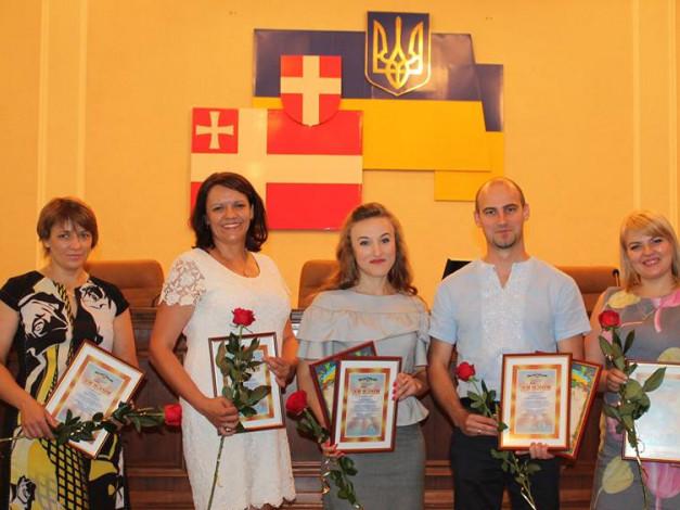 Ірина Карпук друга зліва