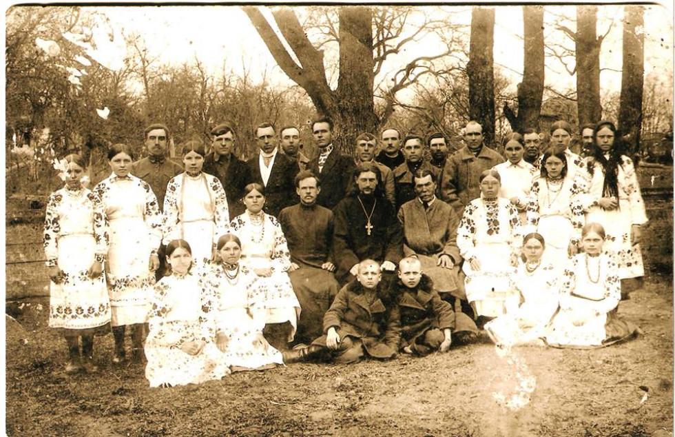 Церковний хор у 30-ті роки минулого століття