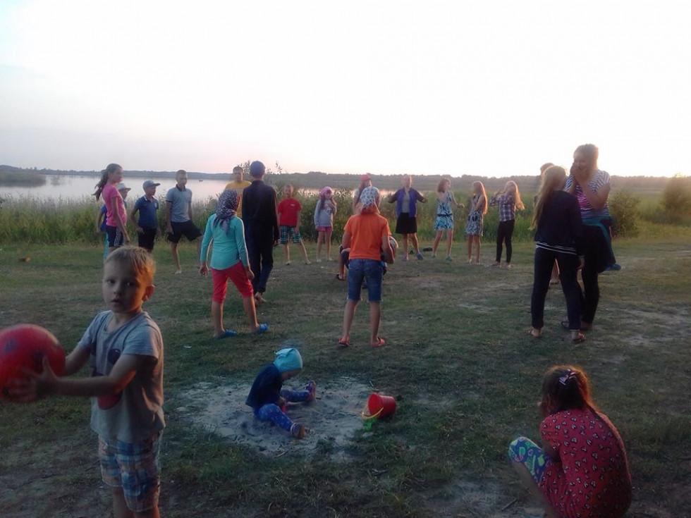 Діти під час табору