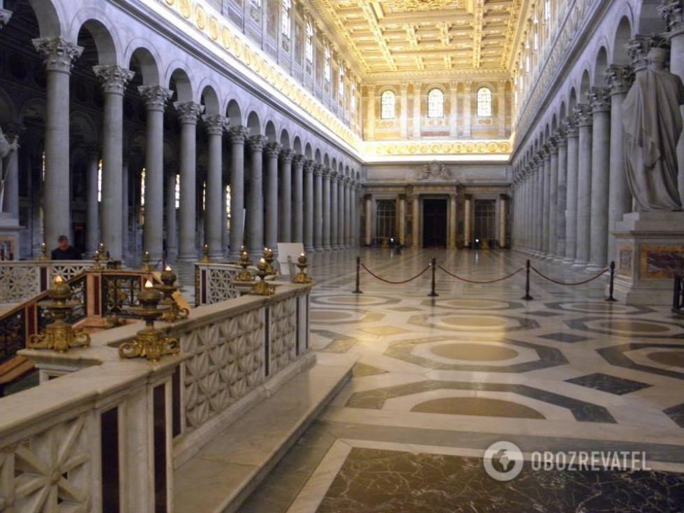 Базиліка San Paolo fuori le mura, Рим