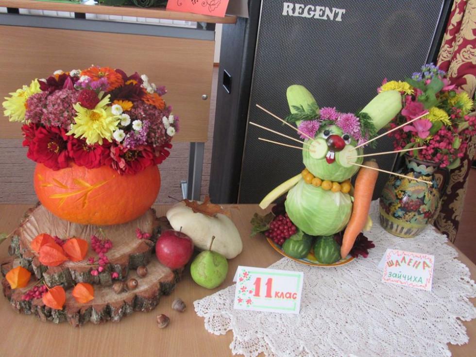 Вироби з овочів та фруктів