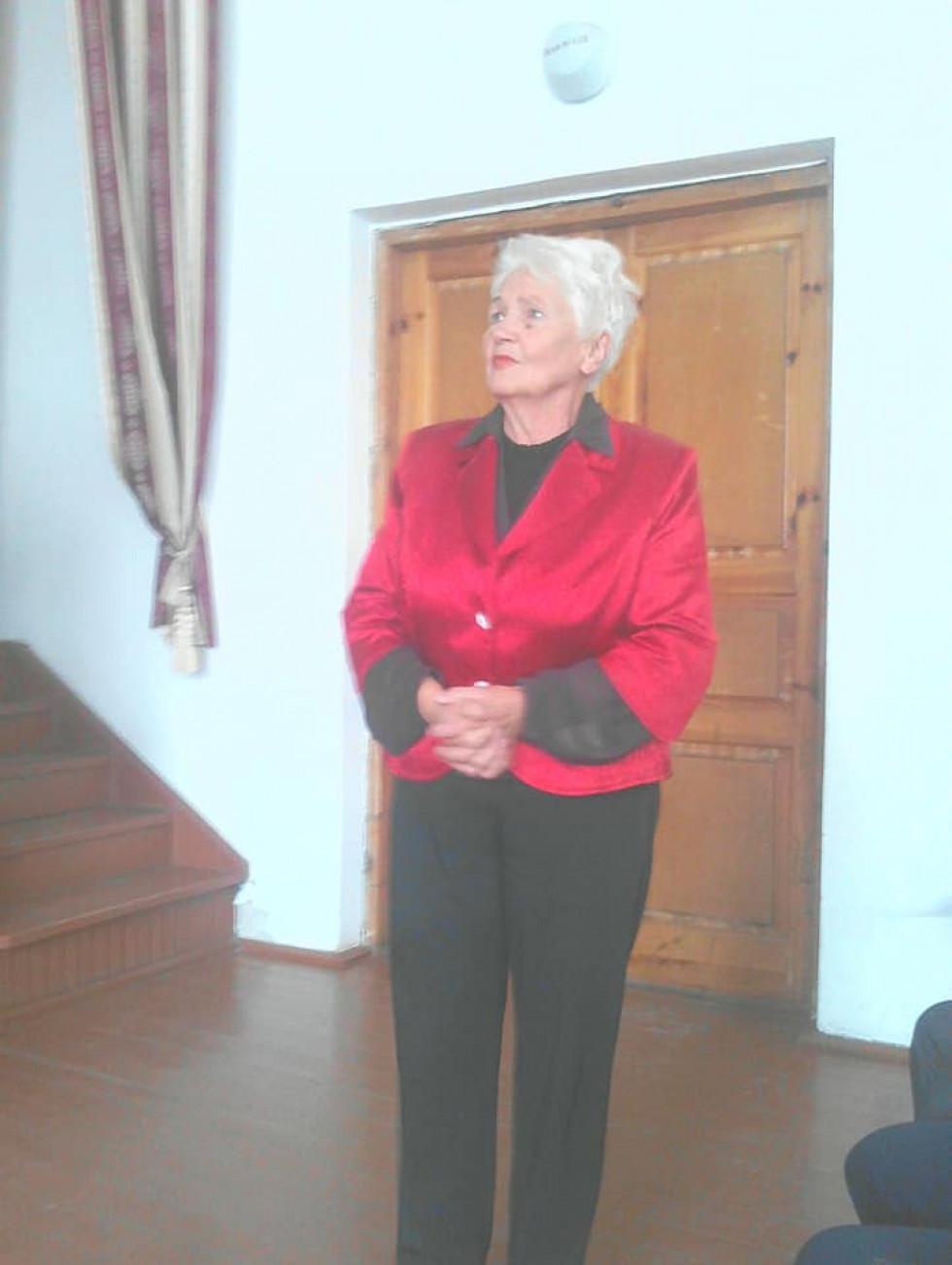 Директорка Марія Резь