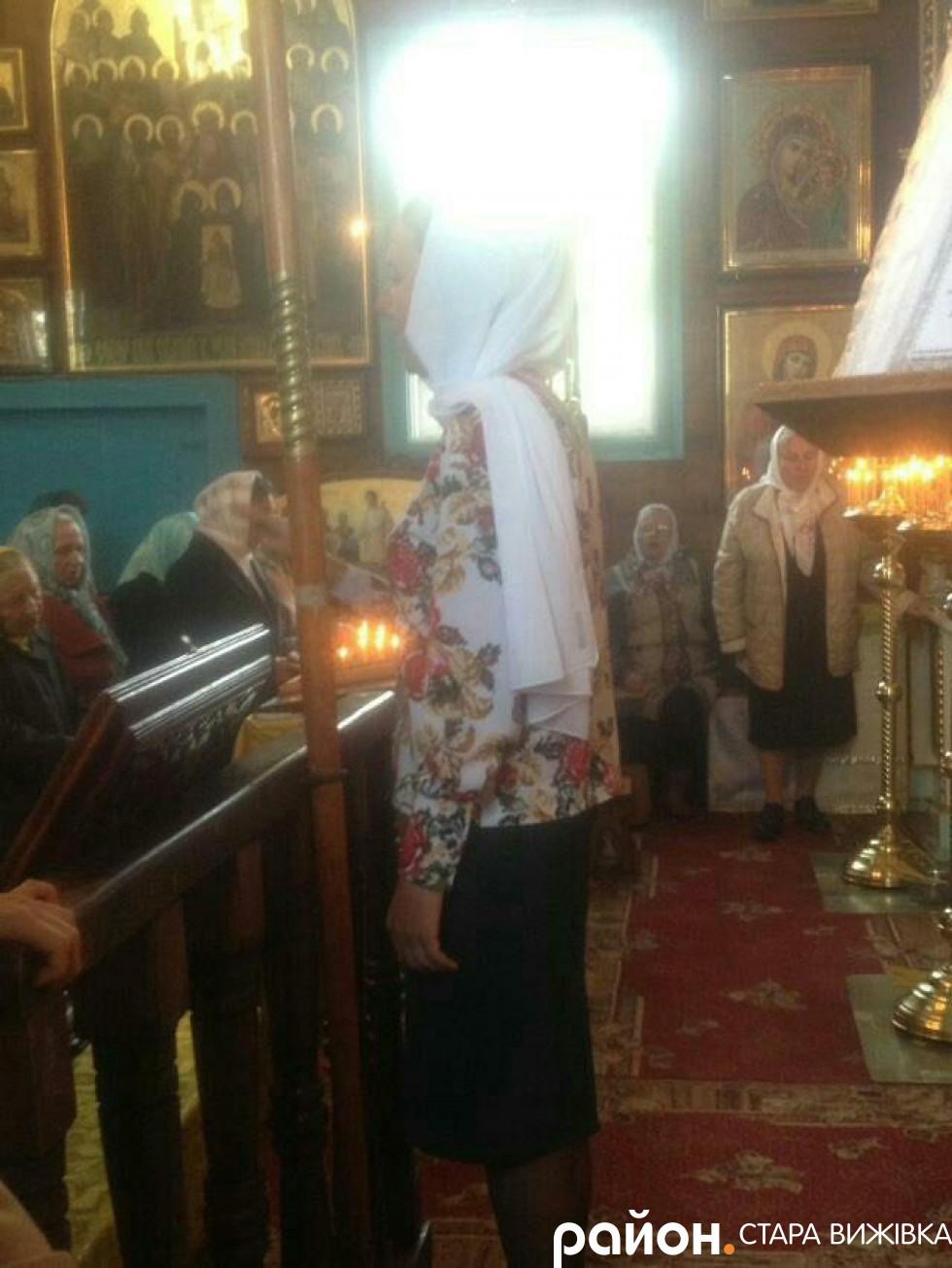 Регент хору Анастасія Крощук
