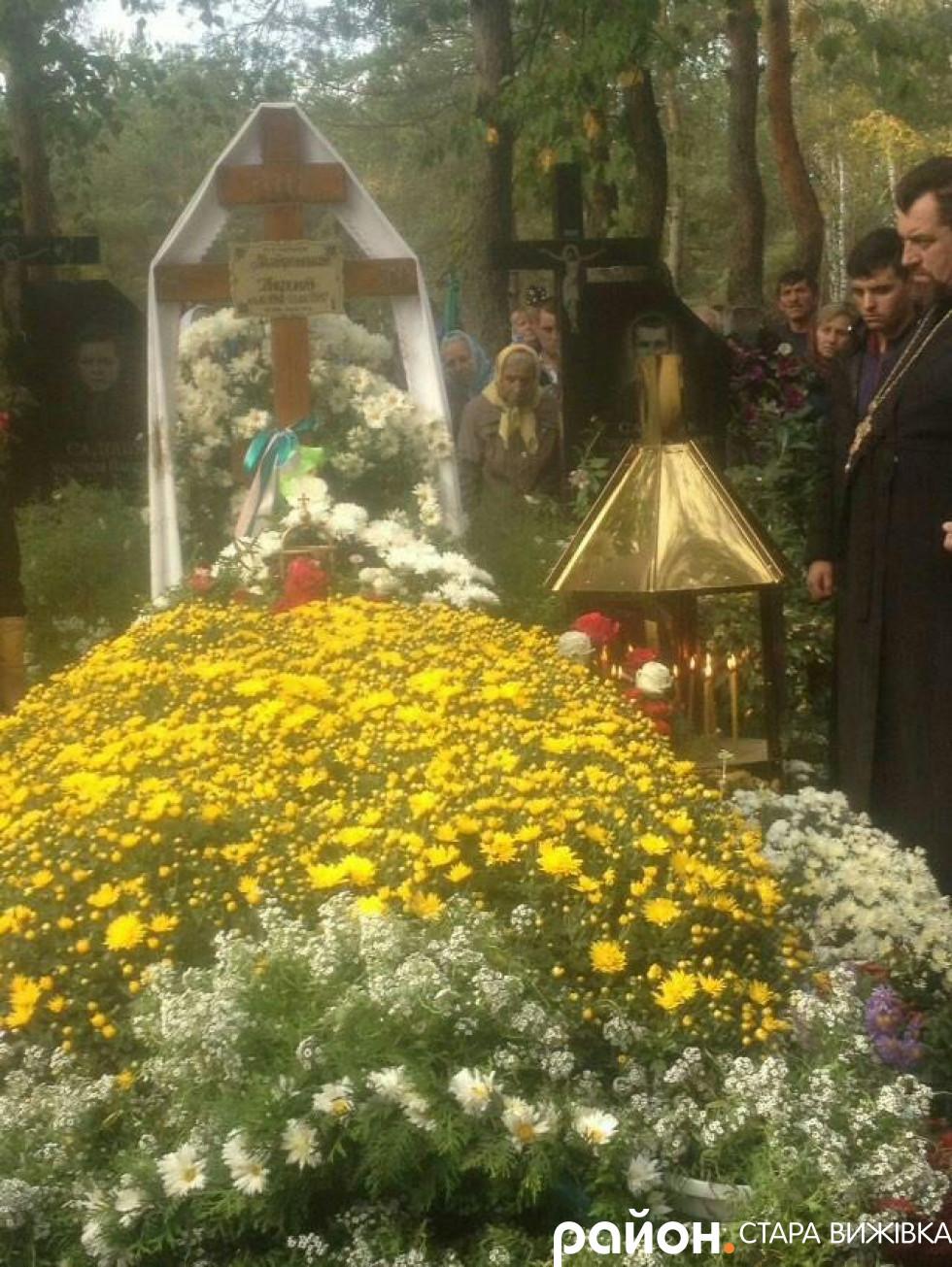Могила митрополита Ніфонта