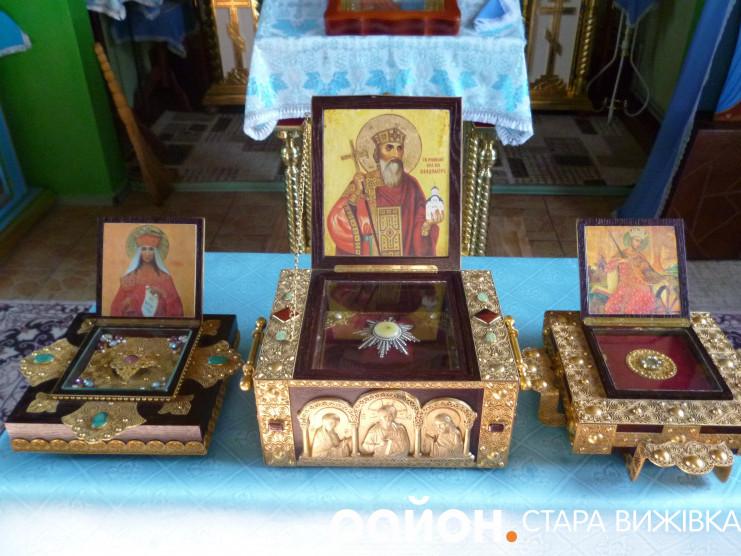 На Старовижівщину прибув Хресний хід з мощами