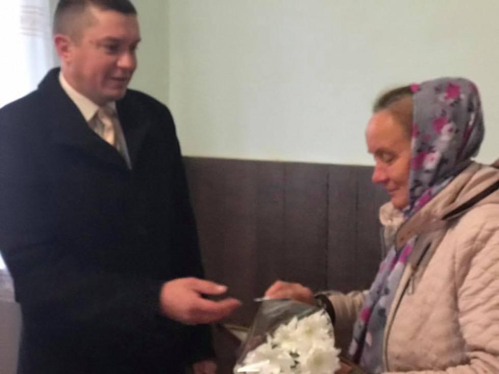 Нагородження Валентини Хартонюк
