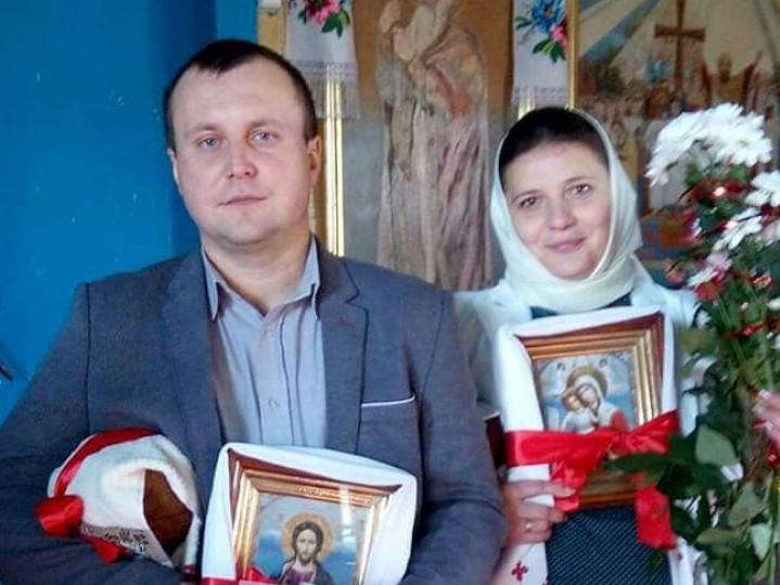 Роман Цалай та його дружина
