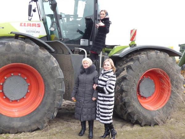 Очільниця Смідинської ОТГ говорила про співпрацю із керівниами СТОВ «Ратнівський аграрій»