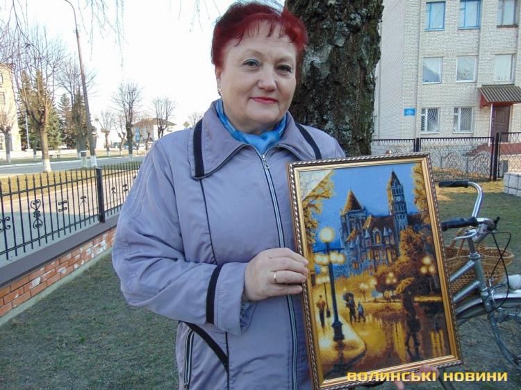 Майстриня Валентина Мороз