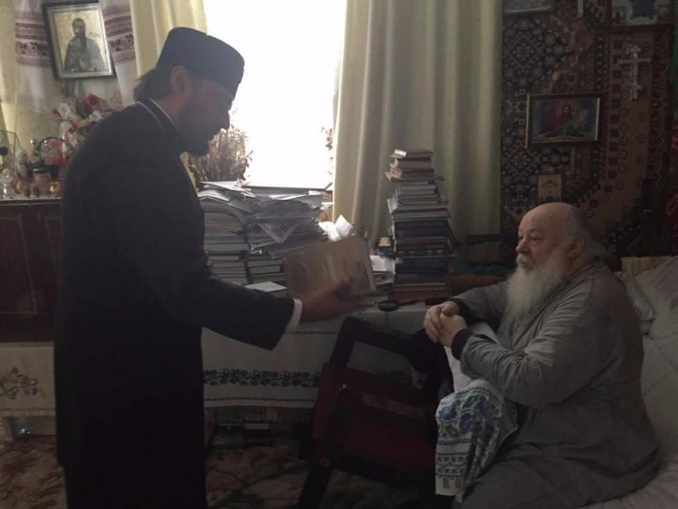 Зустріч із митрополитом Переяслав-Хмельницьким Олександром (літо 2016)