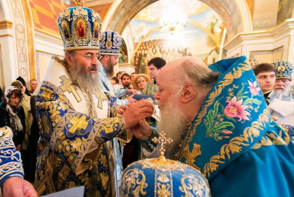 З митрополитом Онуфрієм (серпень 2014)