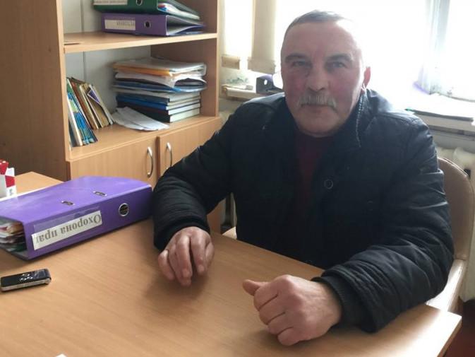 Директор школи Леонід Никонюк