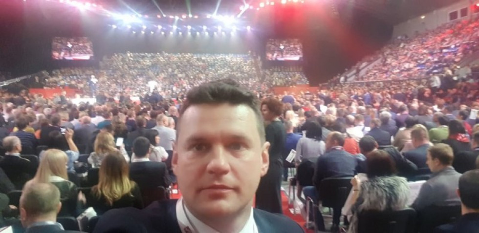 Іван Мирка на форумі «Відкритий діалог»