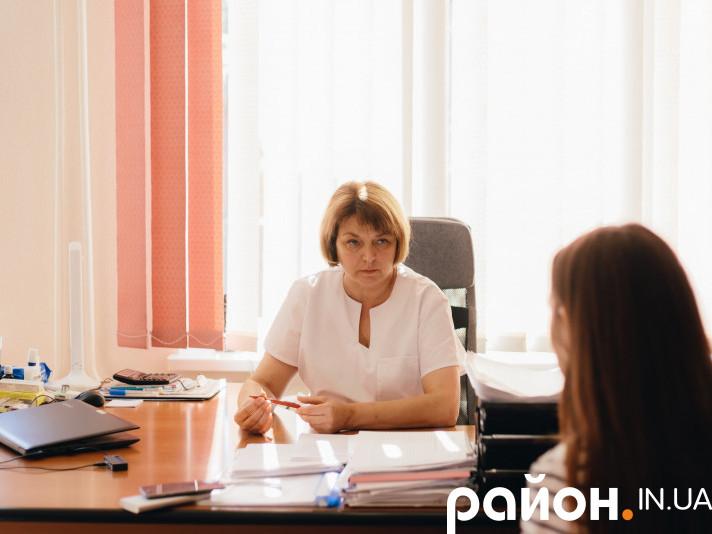 Головна лікарка Старовижівської ЦРЛ Тетяна Свіржевська