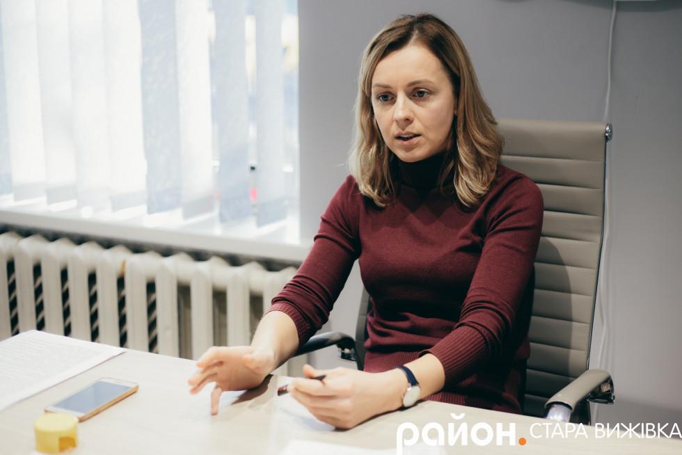 Голова Смідинської ОТГ Оксана Піцик