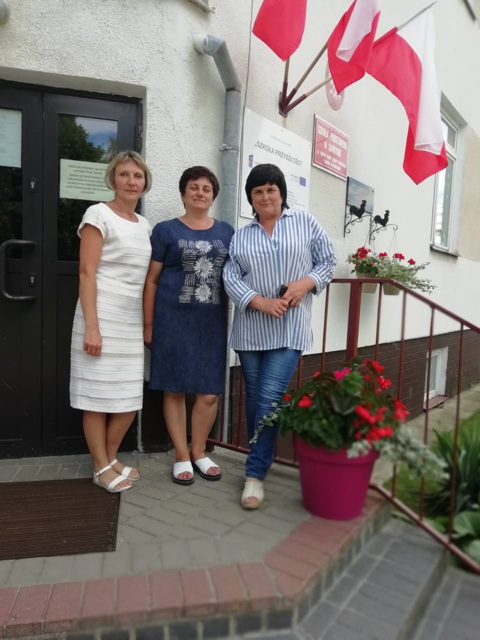 У складі делегації із Старовижівського району 8 липня 2018 року в Польщі у селі Сагринь  Грубешівського повіту Люблінського воєводства